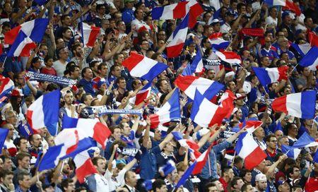 Co dong vien cuong nhiet Euro 2016 vao top anh an tuong tuan - Anh 1