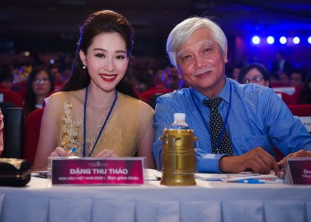 Dang Thu Thao long lay di cham thi Hoa hau Viet Nam - Anh 10