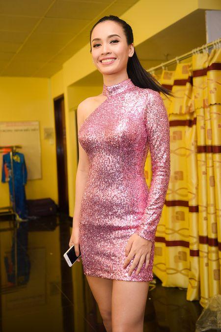 Dang Thu Thao long lay di cham thi Hoa hau Viet Nam - Anh 7