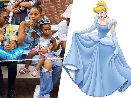 5 bo canh cua Rihanna mang cam hung cong chua Disney - Anh 1