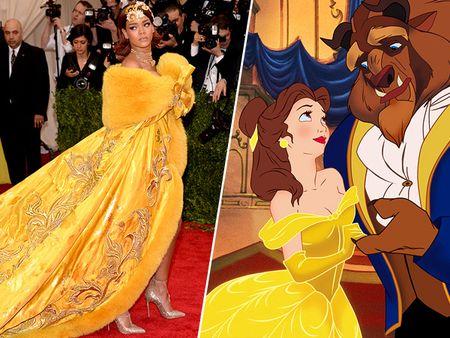 5 bo canh cua Rihanna mang cam hung cong chua Disney - Anh 2