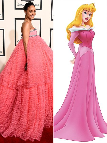 5 bo canh cua Rihanna mang cam hung cong chua Disney - Anh 3