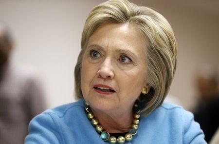 Bau cu My: Ba Clinton bi dieu tra hinh su? - Anh 1