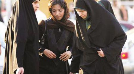Khi phu nu Iran muon giong dan ong - Anh 1