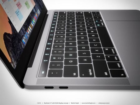 Chiem nguong y tuong thiet ke MacBook Pro voi dai OLED cam ung - Anh 7