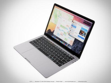 Chiem nguong y tuong thiet ke MacBook Pro voi dai OLED cam ung - Anh 9