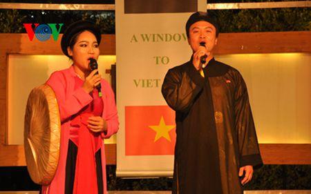 Chuong trinh truc tiep gan 3 gio ve Viet Nam tren truyen hinh Ai Cap - Anh 1