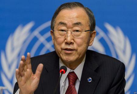 Ong Ban Ki-moon muon dan xep cuoc gap lanh dao Han Quoc-Trieu Tien? - Anh 1