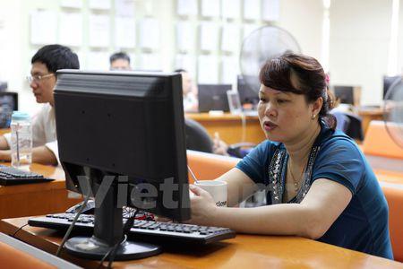 Chung khoan quay dau, chi so VN-Index tuot khoi moc 660 diem - Anh 1