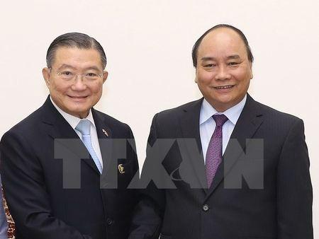 Thu tuong Nguyen Xuan Phuc tiep Chu tich Tap doan TCC Thai Lan - Anh 1