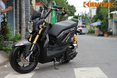 """Can canh scooter Honda Zoomer X """"banh beo"""" doc nhat VN - Anh 1"""