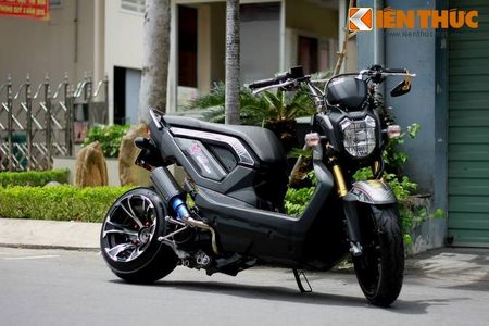 """Can canh scooter Honda Zoomer X """"banh beo"""" doc nhat VN - Anh 2"""