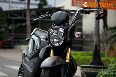 """Can canh scooter Honda Zoomer X """"banh beo"""" doc nhat VN - Anh 3"""