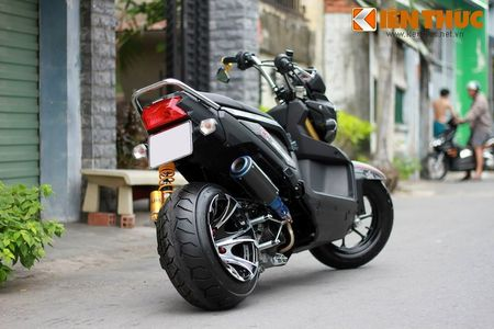 """Can canh scooter Honda Zoomer X """"banh beo"""" doc nhat VN - Anh 5"""