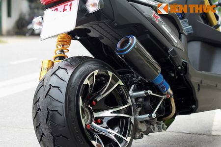 """Can canh scooter Honda Zoomer X """"banh beo"""" doc nhat VN - Anh 6"""