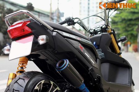 """Can canh scooter Honda Zoomer X """"banh beo"""" doc nhat VN - Anh 8"""