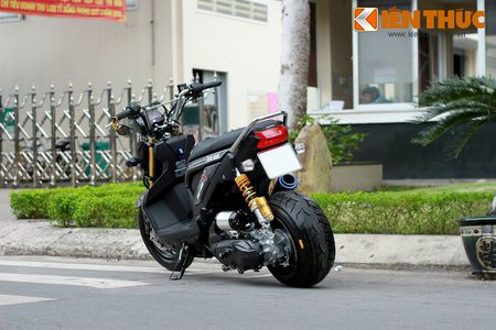 """Can canh scooter Honda Zoomer X """"banh beo"""" doc nhat VN - Anh 9"""