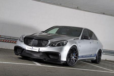 """Soc"" Mercedes E63 AMG do manh hon sieu xe khung - Anh 1"