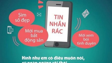 Xu phat 8 doanh nghiep phat tan tin nhan rac - Anh 1