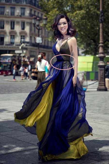 Giang My, Ha Vi, Ha Ho thanh 'di nhan' vi photoshop manh tay - Anh 1