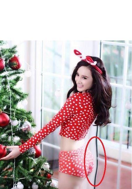 Giang My, Ha Vi, Ha Ho thanh 'di nhan' vi photoshop manh tay - Anh 7