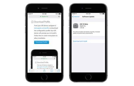 Huong dan cai dat iOS 10 Beta cho moi nguoi - Anh 2