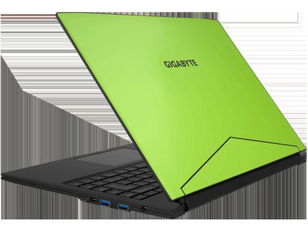 Gigabyte Aero 14: laptop choi game sieu mong, 1.9kg, pin 10 tieng, SSD 2000MB/s, gia 1599$ - Anh 1