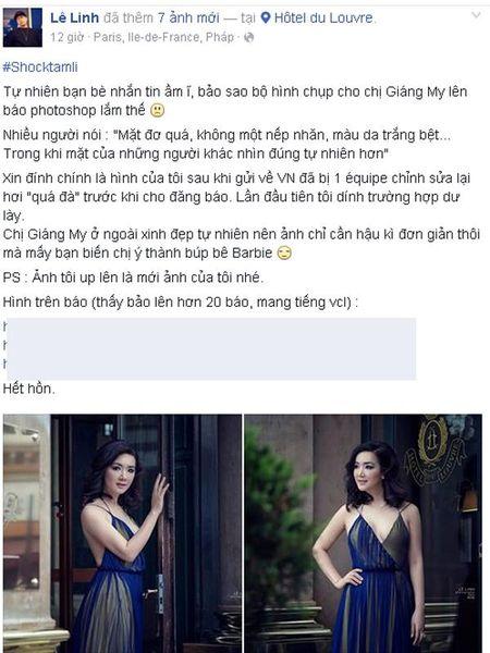 Hoa hau Giang My bi nem da du doi vi bo anh photoshop qua da - Anh 3