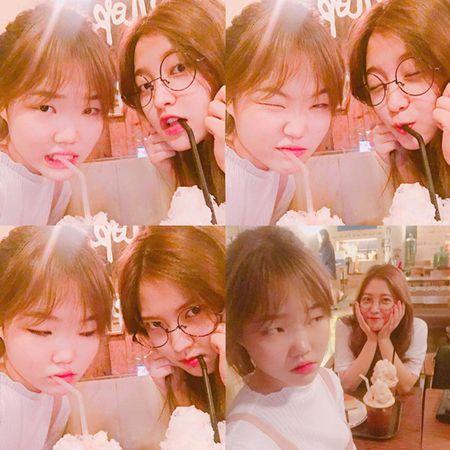 Sao Han 8/7: Tiffany bi nghi 'dim' dan chi, Victoria khoe chan trang nuot - Anh 5