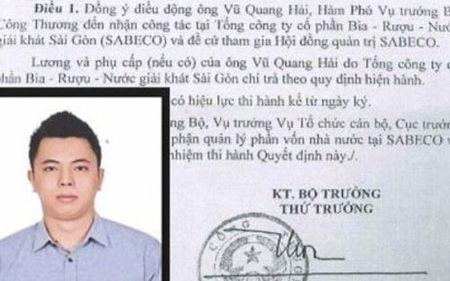 Pho thu tuong yeu cau bao cao viec bo nhiem ong Vu Quang Hai - Anh 1