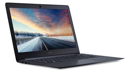 May tinh xach tay kim loai sang trong doi dau MacBook Air tu Acer - Anh 1
