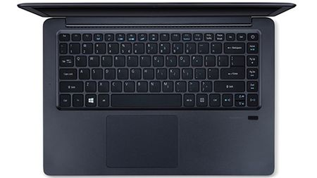 May tinh xach tay kim loai sang trong doi dau MacBook Air tu Acer - Anh 2
