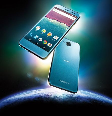 Sharp ra mat smartphone Android One chong nuoc - Anh 2