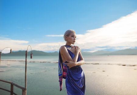 Diep Linh Chau muon xay dung hinh anh dang cap tai The Face 2016 - Anh 2