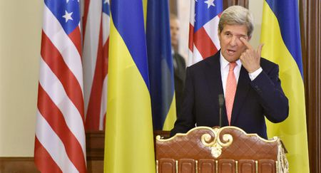 Ong Kerry tin rang su can thiep cua My da ngan chan do mau o Ukraine - Anh 1