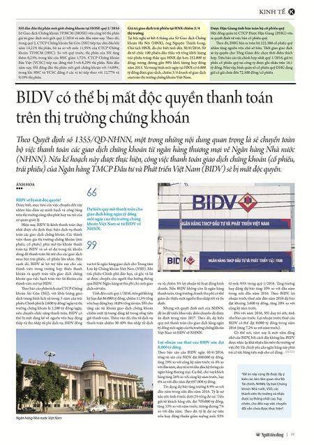 BIDV co the bi mat doc quyen thanh toan tren TTCK - Anh 3