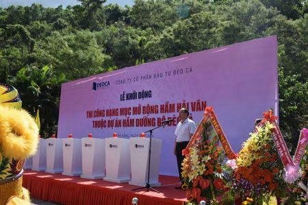 Thu truong Nguyen Hong Truong phat lenh khoi dong du an ham Hai Van 2 - Anh 2