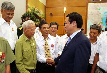 Pho Thu tuong tiep doan Nguoi co cong tinh Nam Dinh - Anh 2