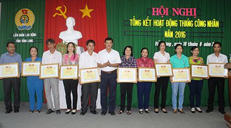 Vinh Long: 100% doanh nghiep xay dung thoa uoc lao dong tap the - Anh 1