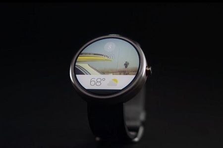 Google phat trien smartwatch Nexus chay Android Wear - Anh 1