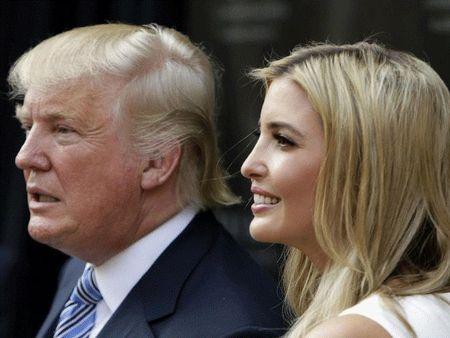 Con gai Donald Trump se tranh cu pho tong thong My? - Anh 1