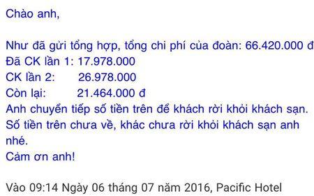 Khong chap nhan viec khach san 'giam' xe cua du khach - Anh 3