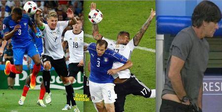 Schweinsteiger va Giroud bi ghep anh che gieu - Anh 3