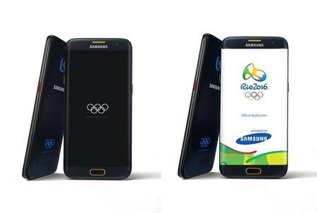 Galaxy S7, S7 edge ban Olympic ra mat - Anh 1
