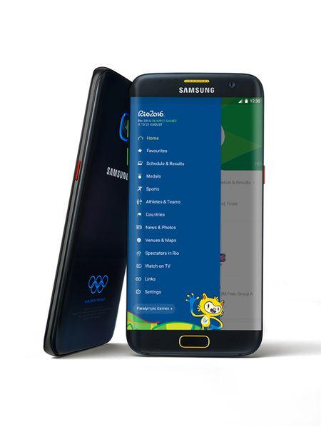 Galaxy S7, S7 edge ban Olympic ra mat - Anh 2
