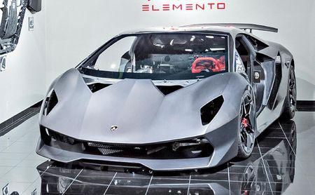 Lamborghini tang cuong su dung soi carbon cho sieu xe - Anh 1