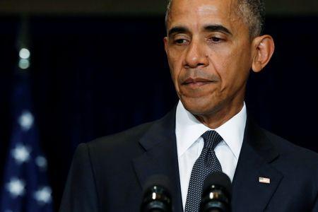 Obama goi vu ban canh sat o Dallas la 'cuoc tan cong hen ha' - Anh 1