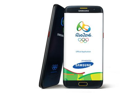 Samsung ra mat Galaxy S7 Edge phien ban Olympic Edition - Anh 3