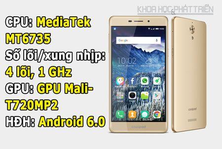 Mo hop smartphone chuyen selfie, gia re cua Coolpad - Anh 1