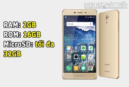 Mo hop smartphone chuyen selfie, gia re cua Coolpad - Anh 2